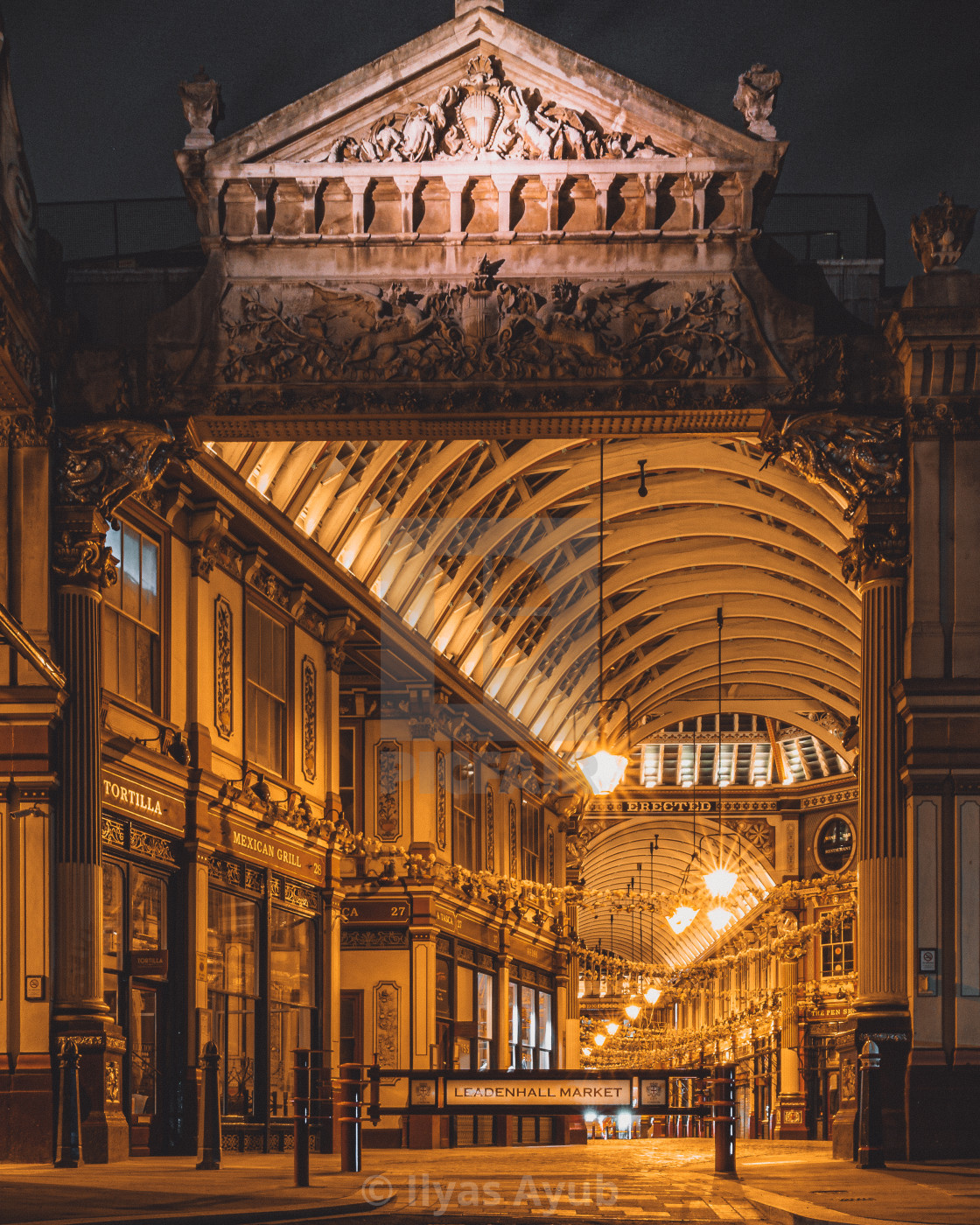 """Leadenhall Market, London"" stock image"