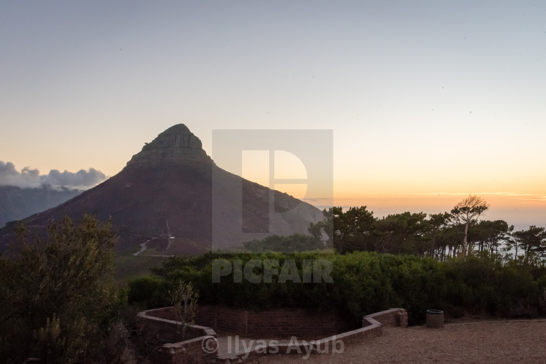 """""""Signal Hill, Cape Town, South Africa"""" stock image"""