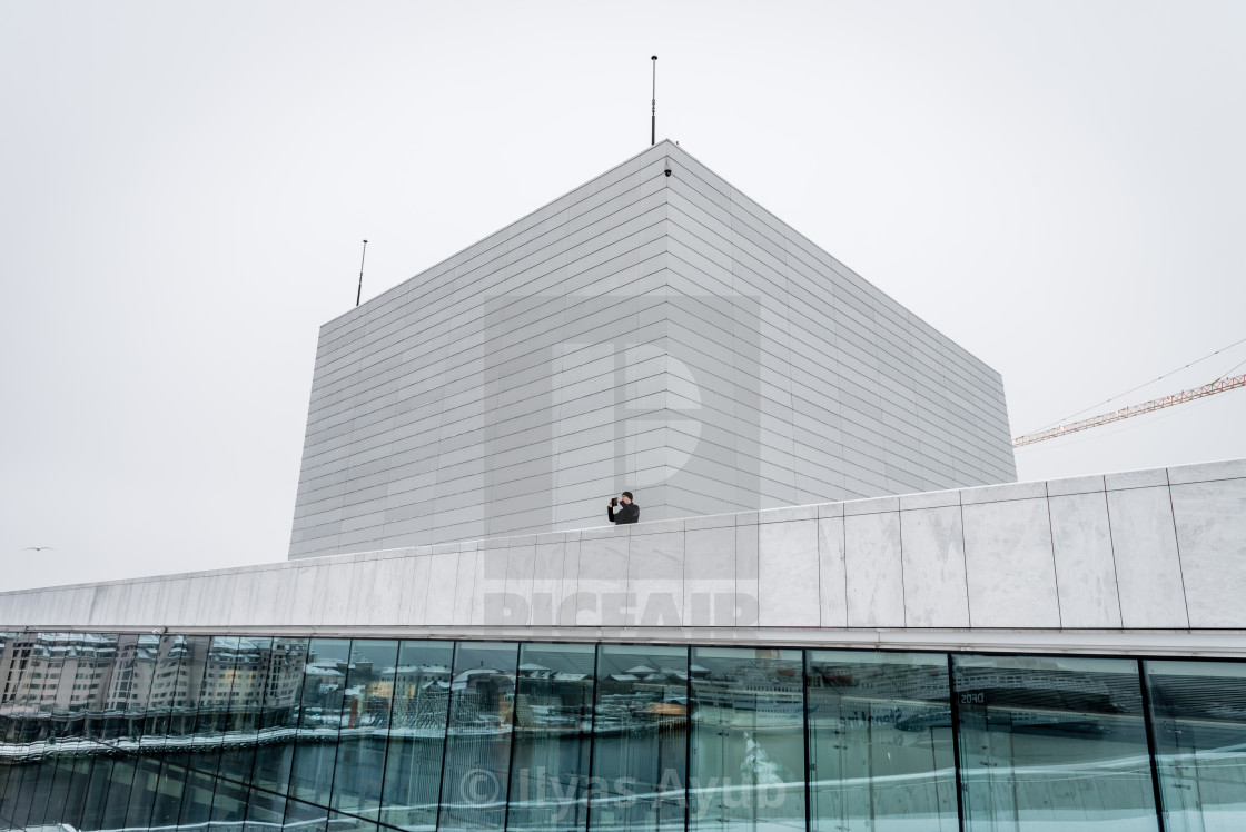 """Opera House, Oslo, Norway"" stock image"