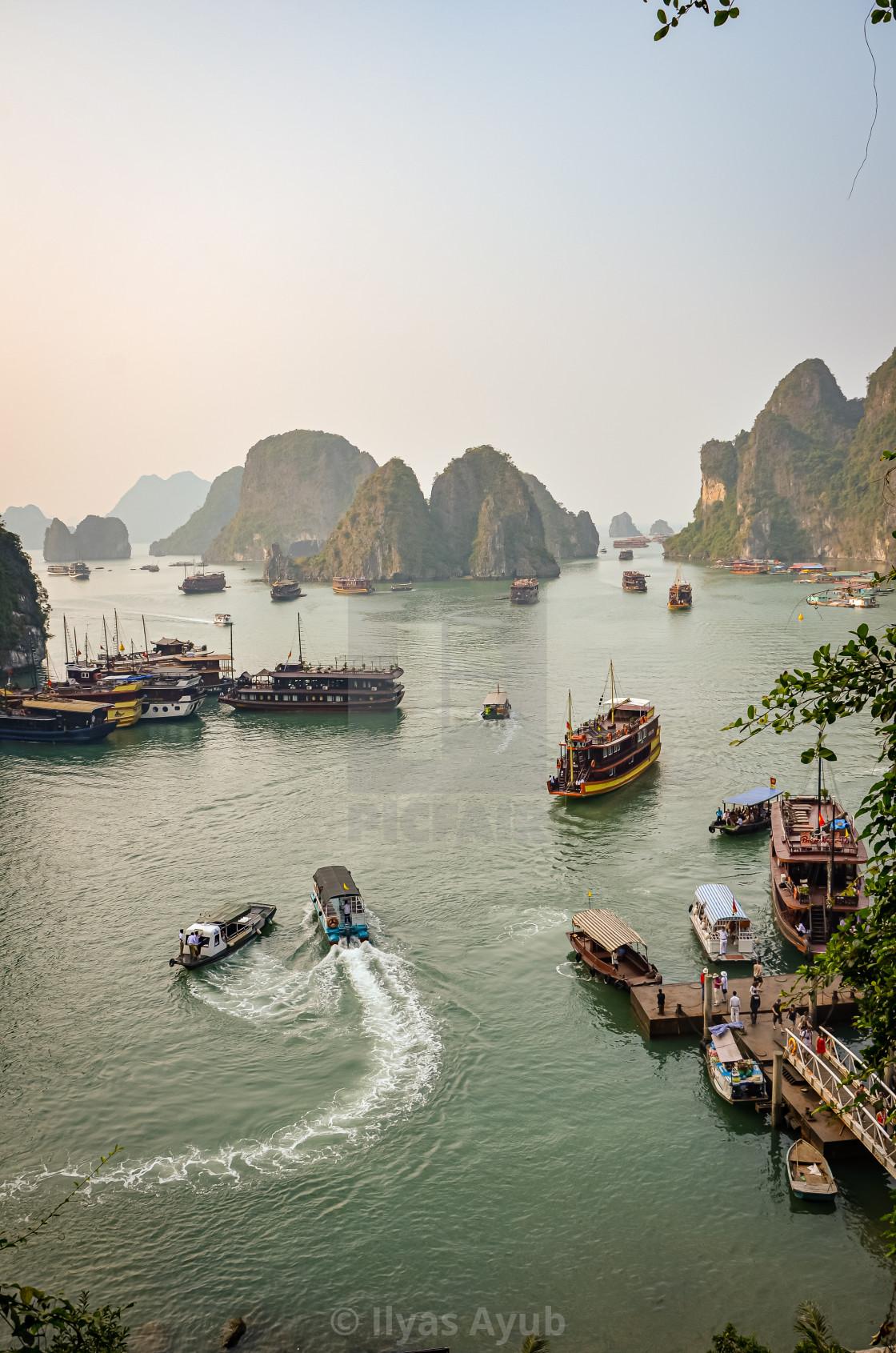 """Ha Long Bay, Vietnam"" stock image"