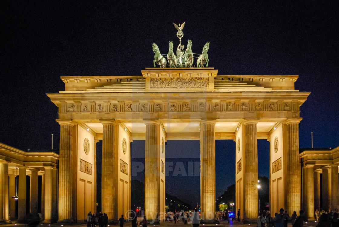 """Brandenburg Gate Berlin, Germany"" stock image"