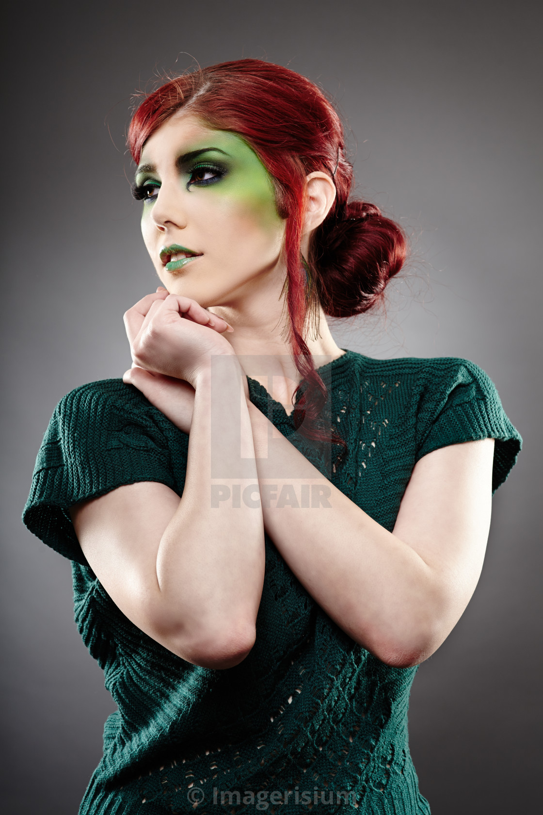 Poison Ivy Makeup License Download Or Print For 14 88 Photos Picfair