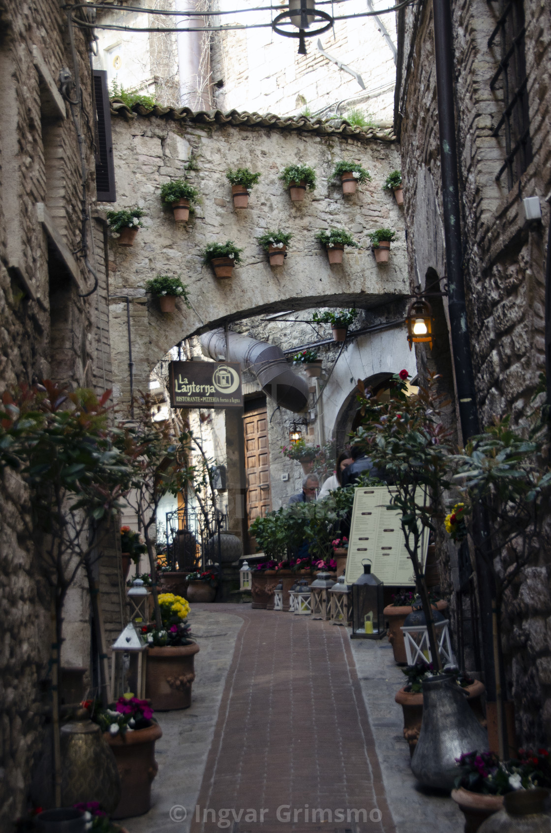 """""""Assisi, Umbria Italy."""" stock image"""