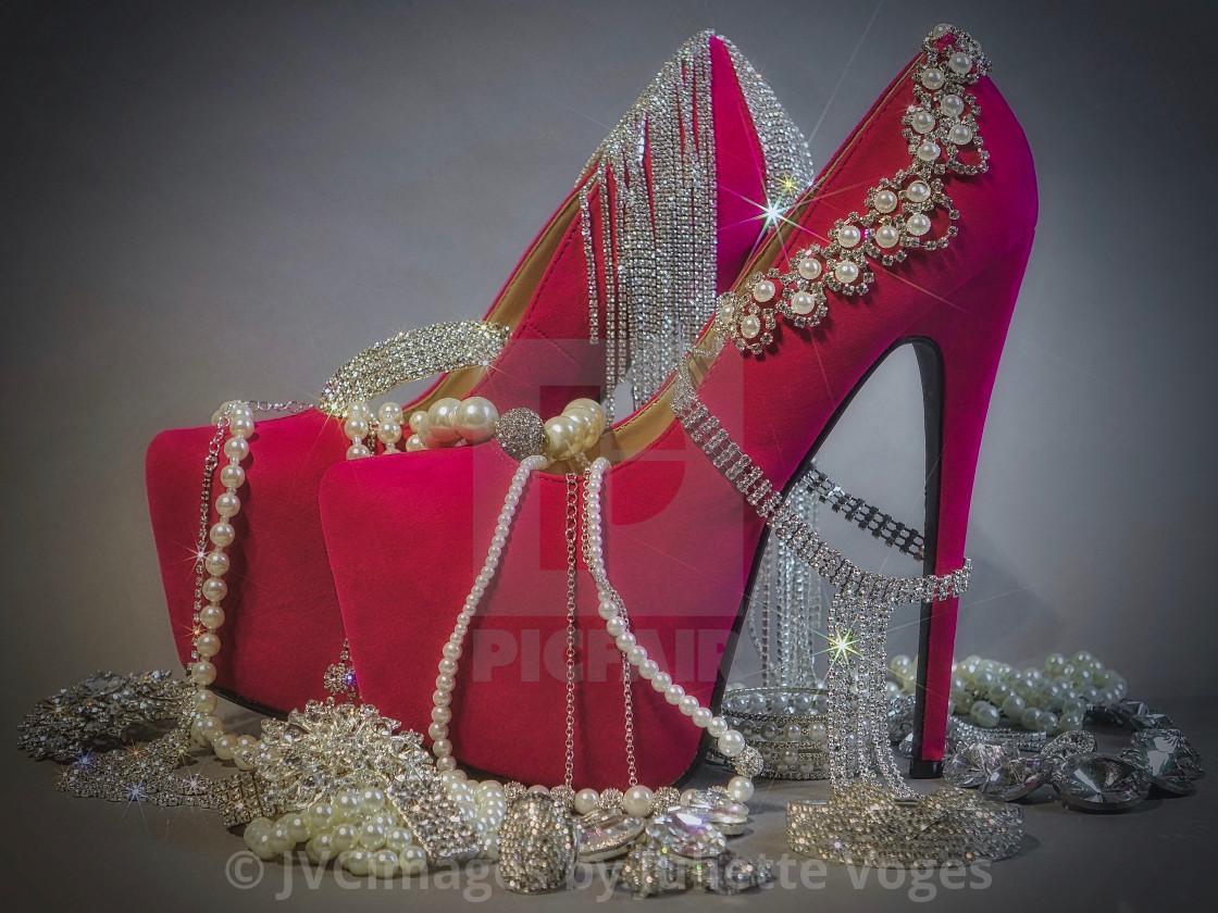 """Diamonds And Pearls"" stock image"