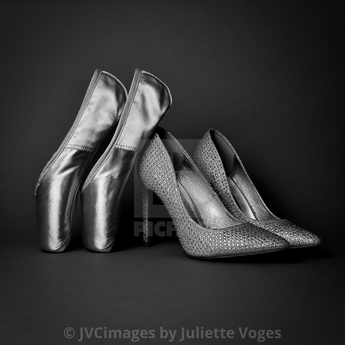 """""""Heels And Toes"""" stock image"""