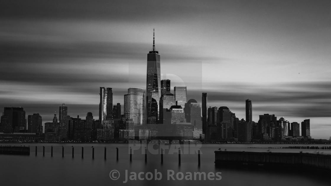"""NYC Skylie"" stock image"