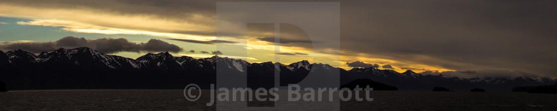 """""""Tierra del Fuego,Chile"""" stock image"""
