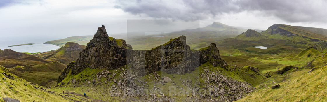 """""""The North west of Skye."""" stock image"""