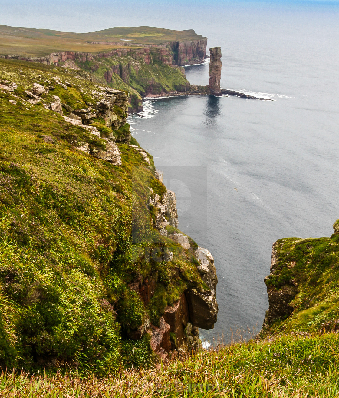 """""""The Old Man of Hoy."""" stock image"""