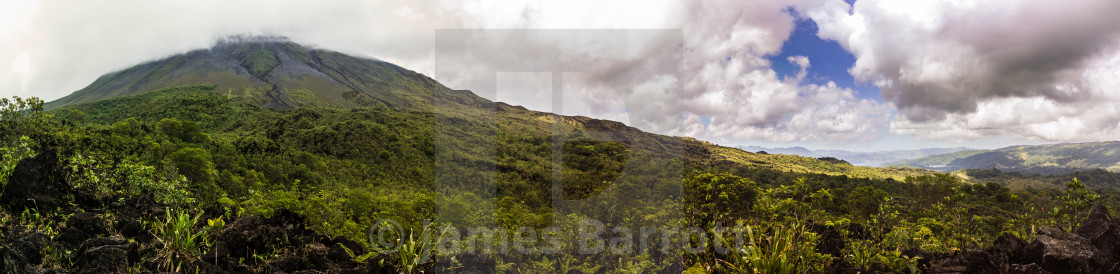 """The Volcan Arenal"" stock image"