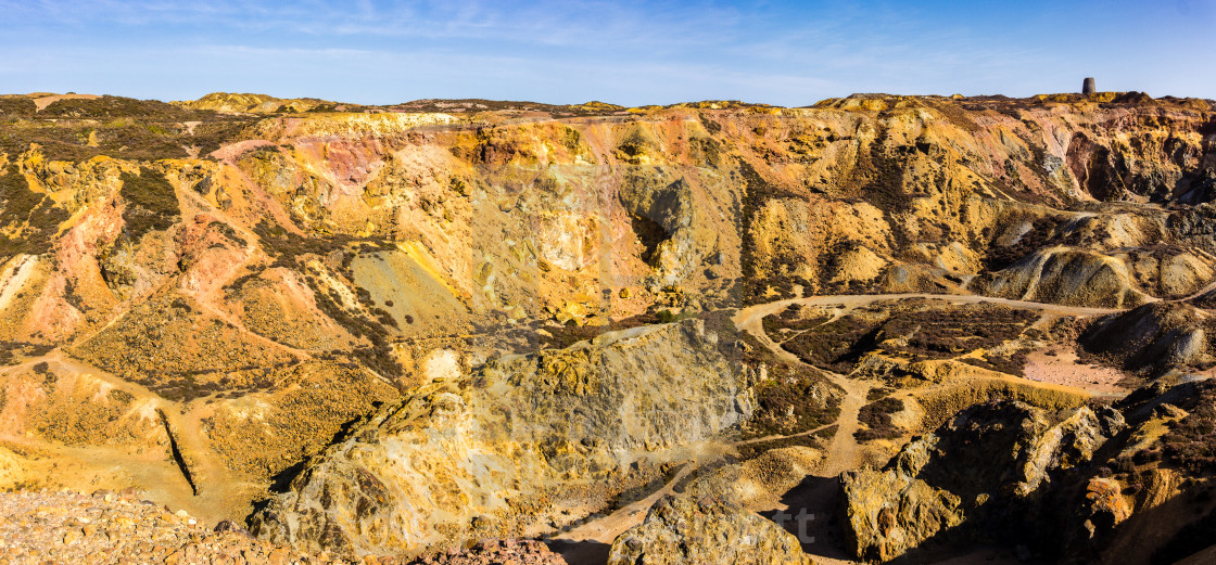 """Parys Mountain."" stock image"