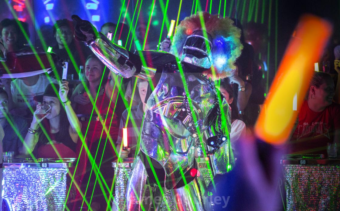 """Tokyo Robot Restaurant"" stock image"