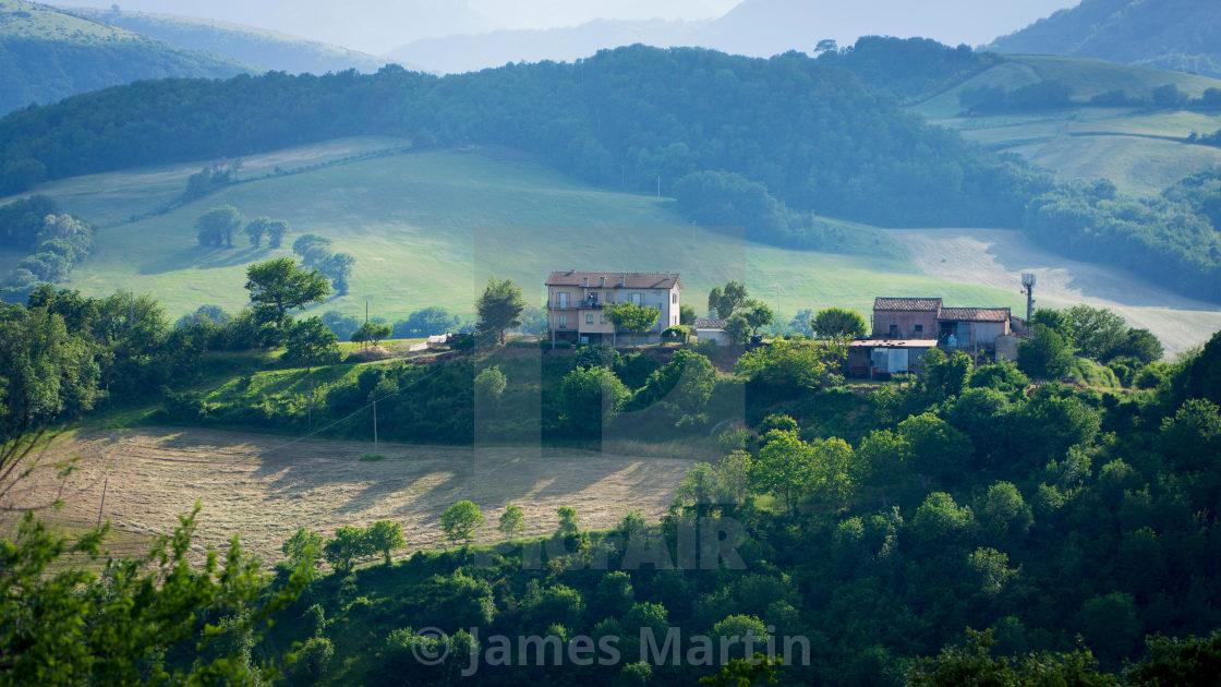 """Le Marche, Italy, Landscape"" stock image"