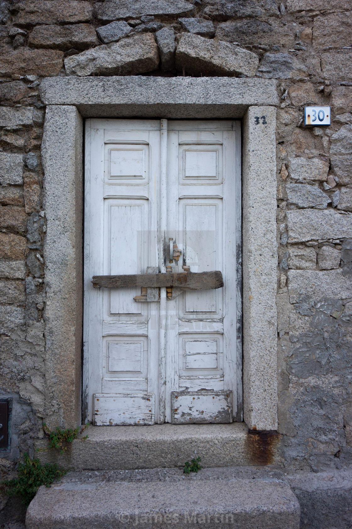 """Door 30 (or 31), Gavoi, Sardinia"" stock image"