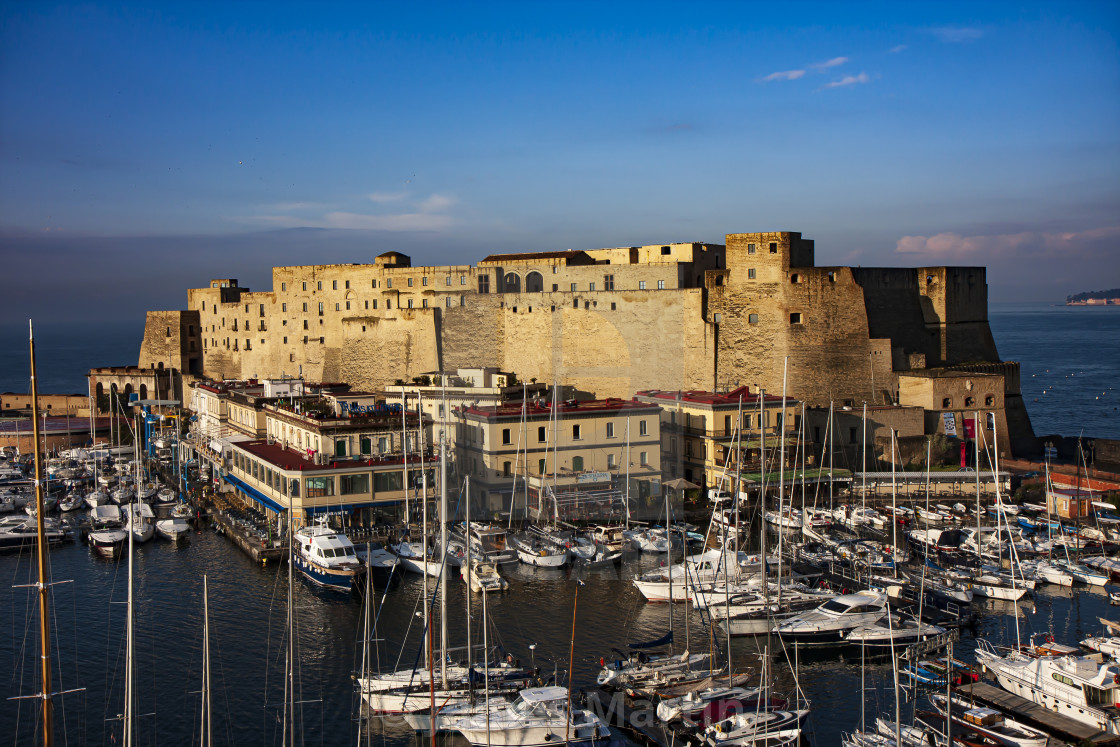 """Egg Castle | Castel dell'Ovo, Naples, Italy"" stock image"