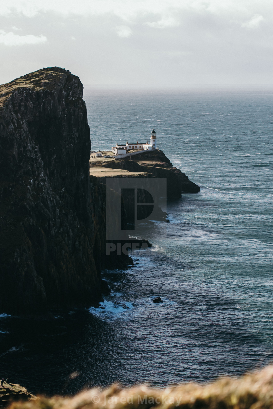 """Neist Point Lighthouse, Isle of Skye"" stock image"