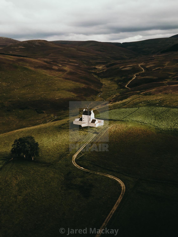 """Corgarff Castle"" stock image"