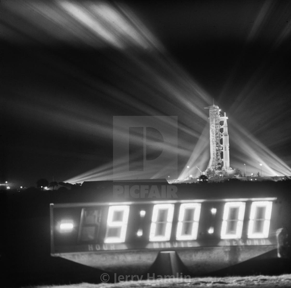 """""""Apollo17 Countdown"""" stock image"""