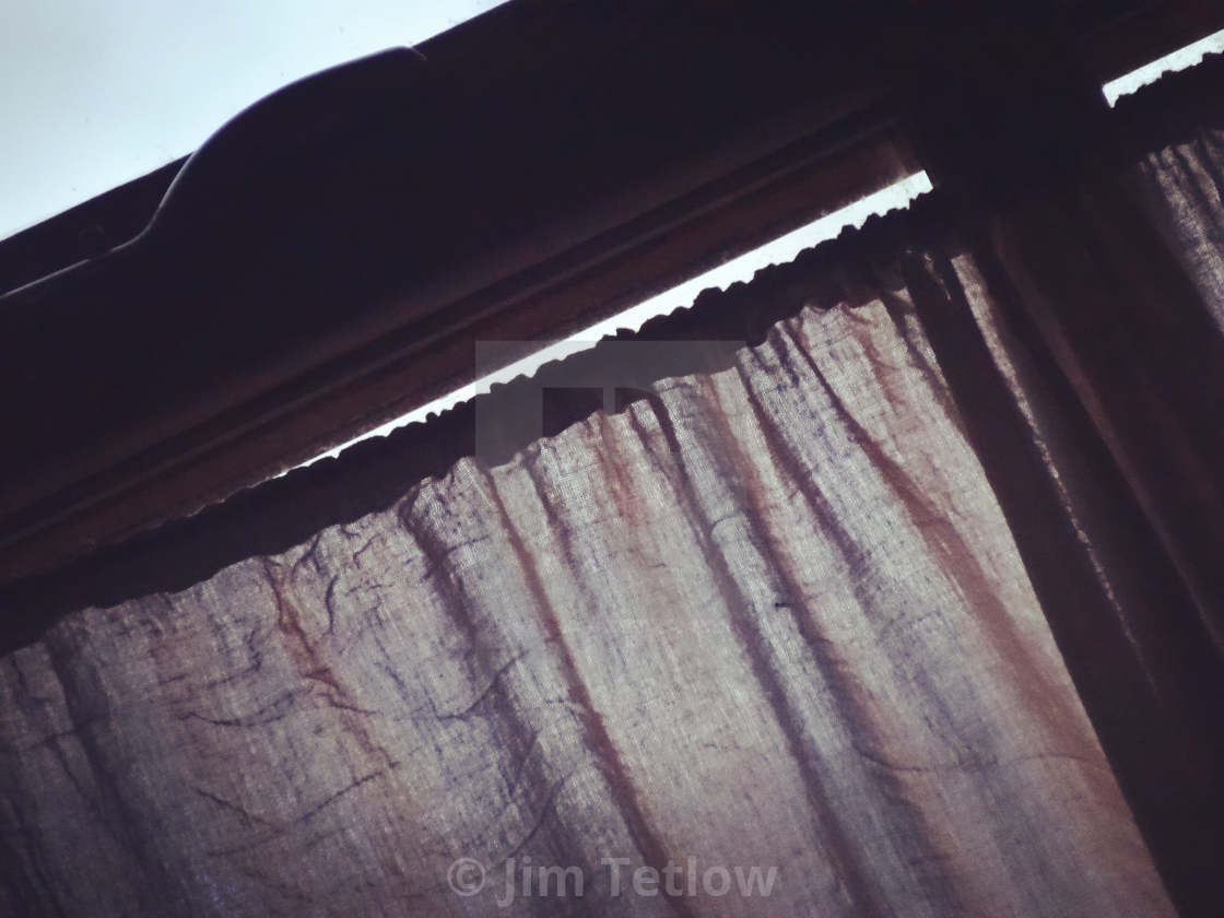 """""""Curtains"""" stock image"""