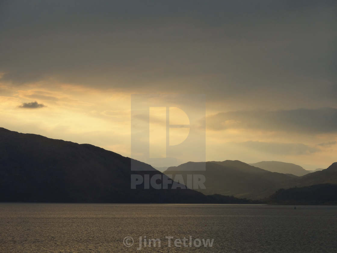 Loch Linnhe at Sunset