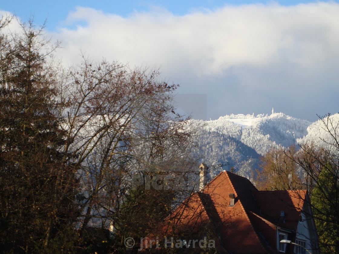 """""""Weissenstein Winter"""" stock image"""