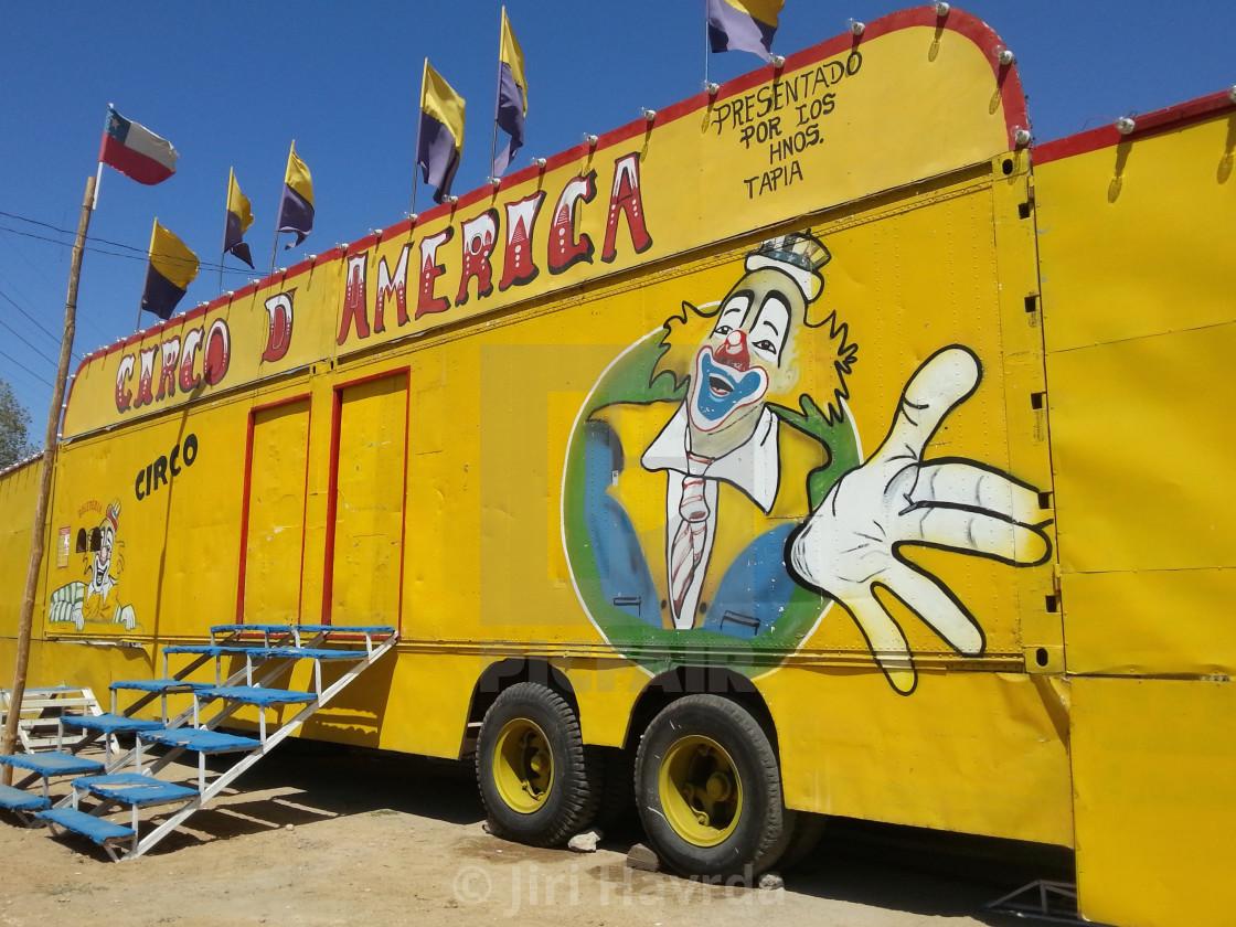 """Circo America"" stock image"