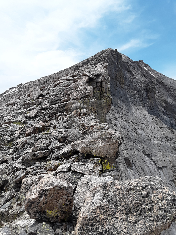 """""""Mount Meeker"""" stock image"""