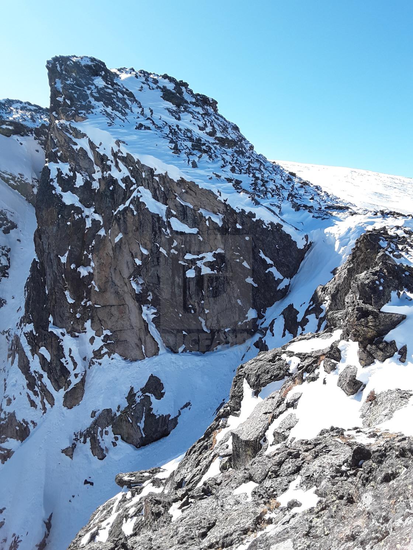 """""""Flat Top Peak"""" stock image"""