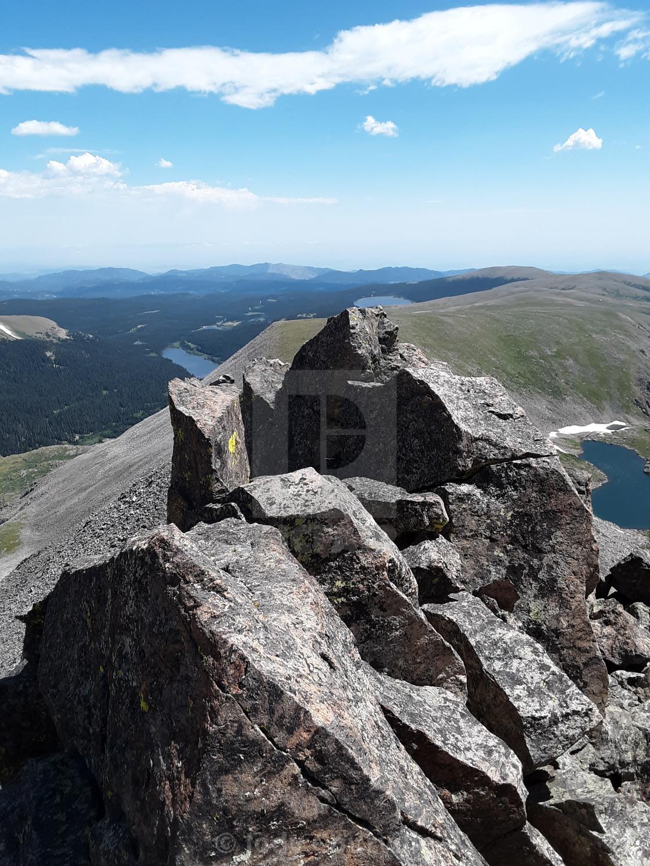 """""""Niwot Ridge"""" stock image"""