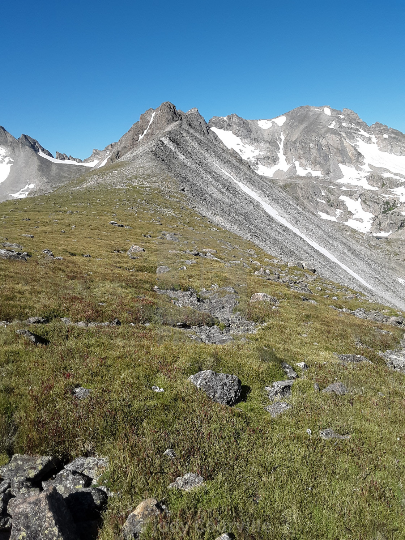 """""""Rocky Ridge"""" stock image"""