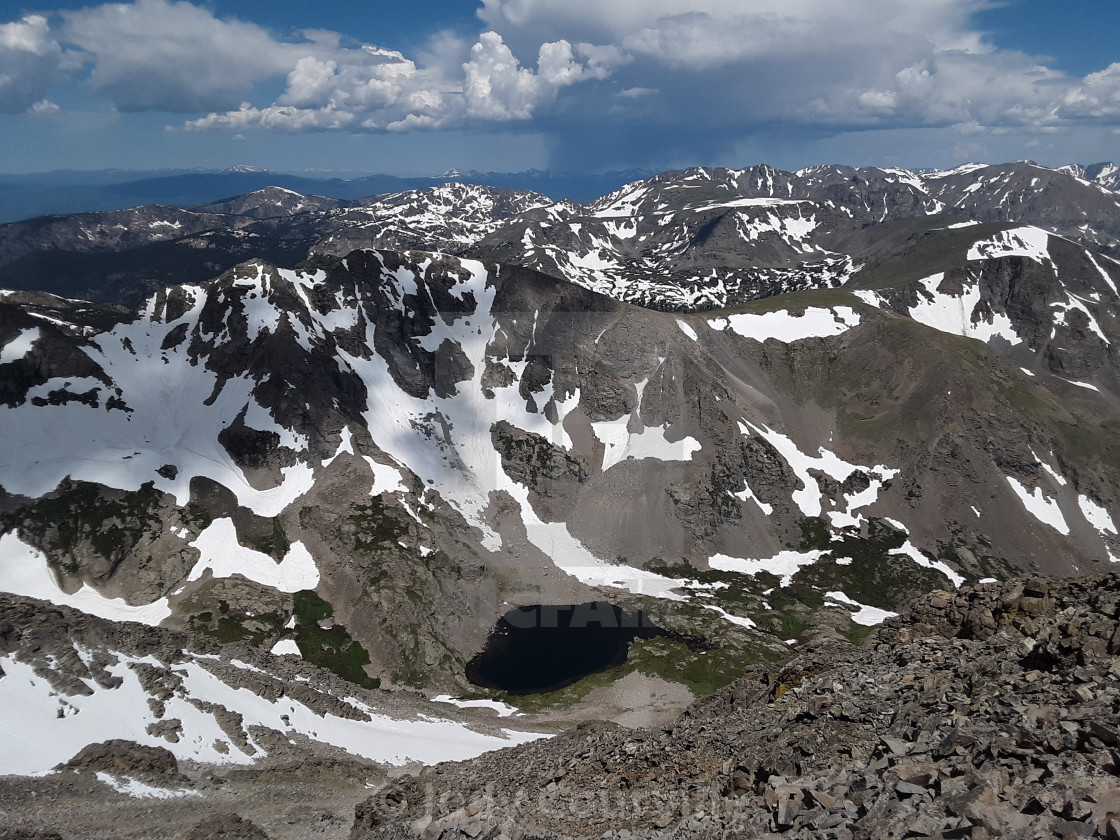 """""""Highest point in Colorado"""" stock image"""