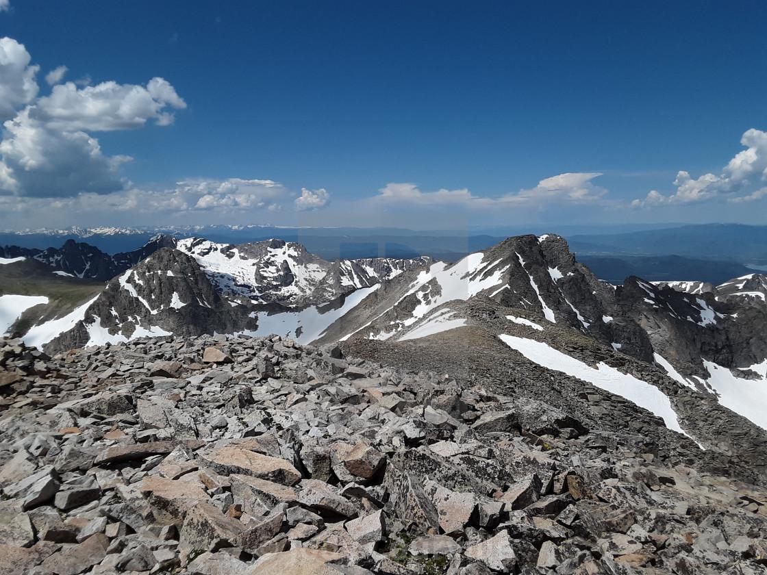 """""""Mount Elbert"""" stock image"""