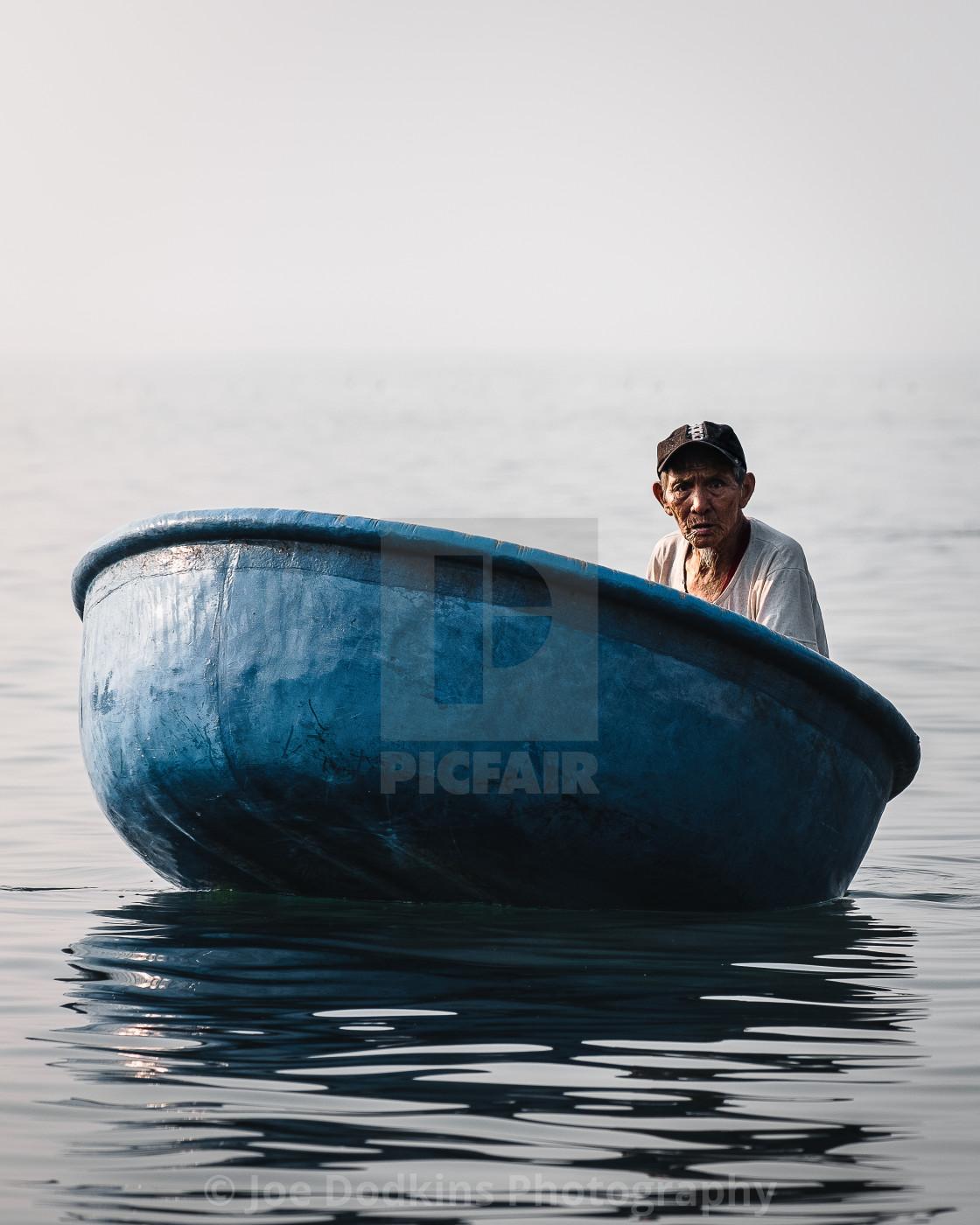 """Fisherman Rise"" stock image"