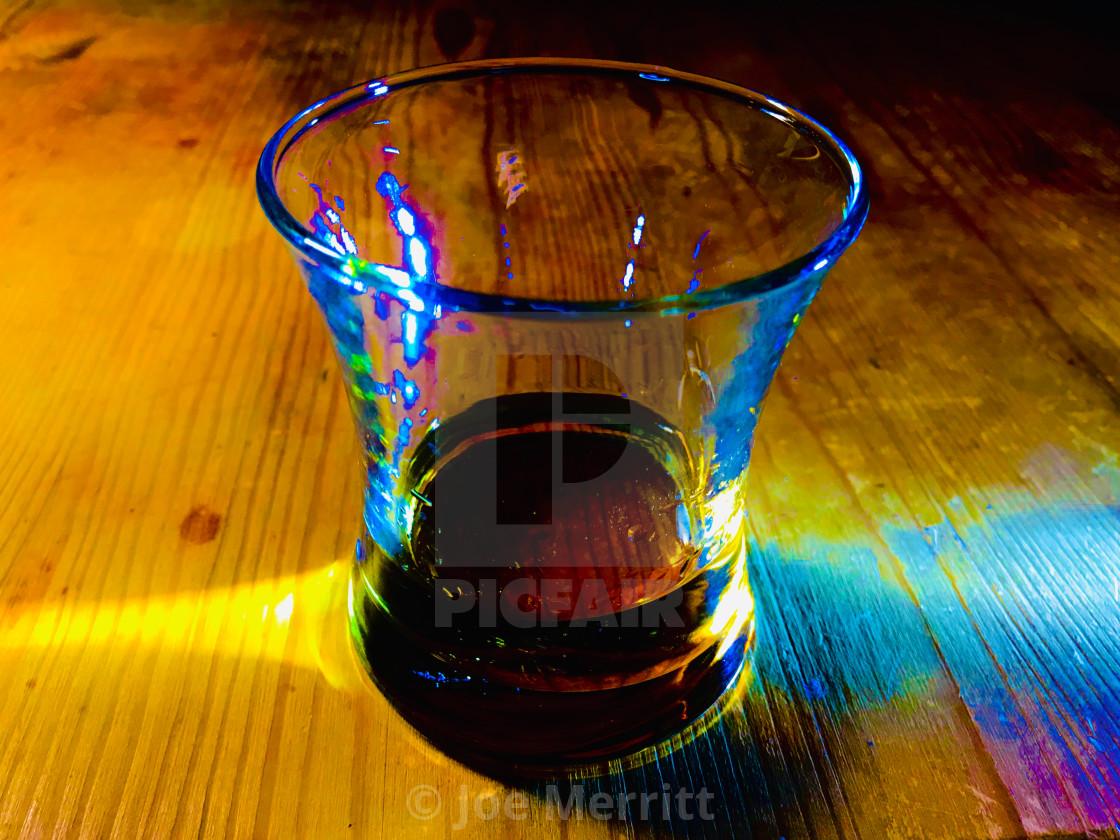 """The Scotch Enlightenment, dark tone."" stock image"