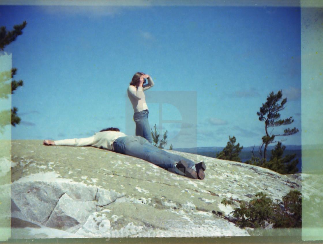 """Dreamer's Rock"" stock image"