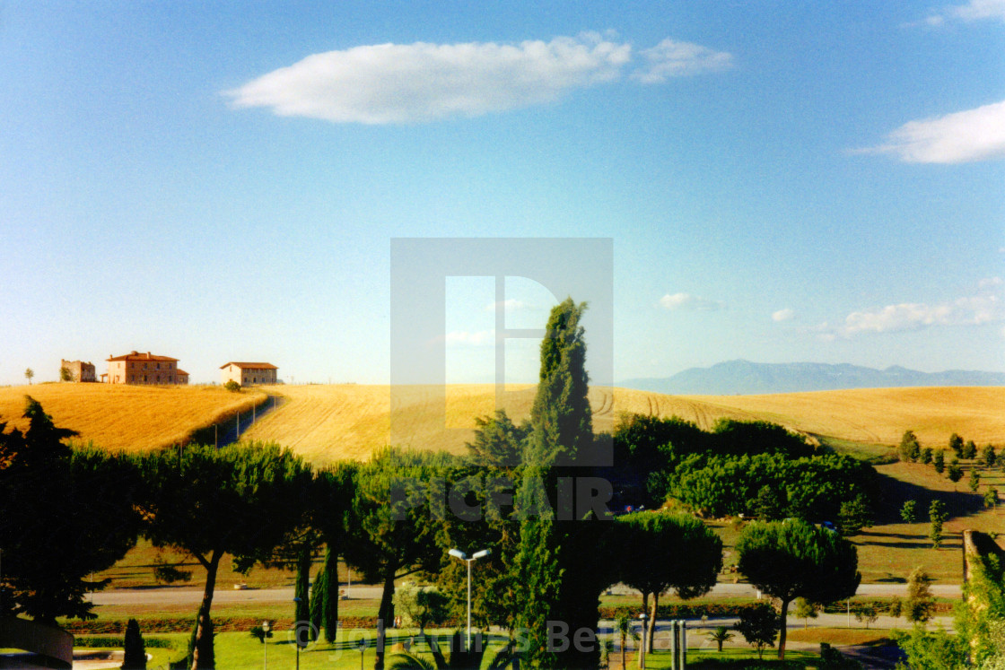 """Lazio landscape in summer"" stock image"