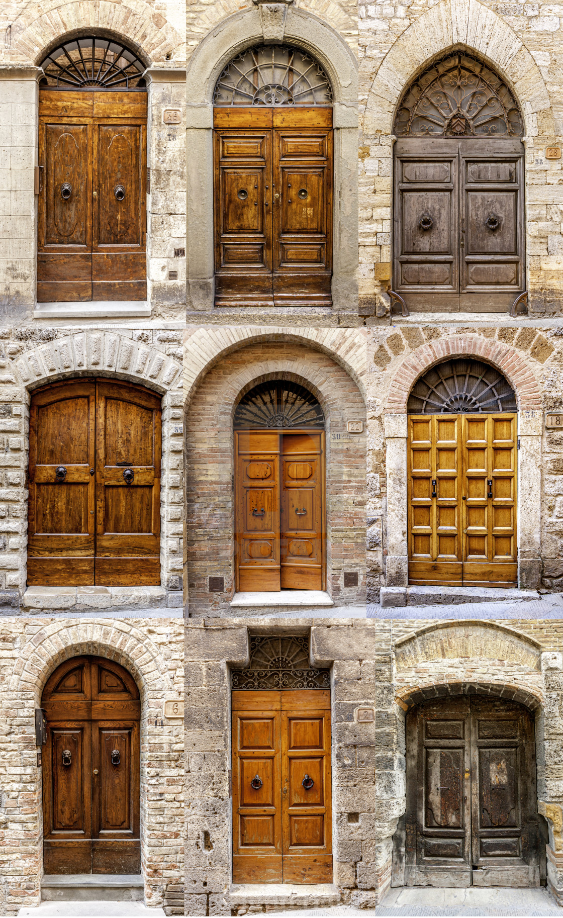 """French Doors"" stock image"