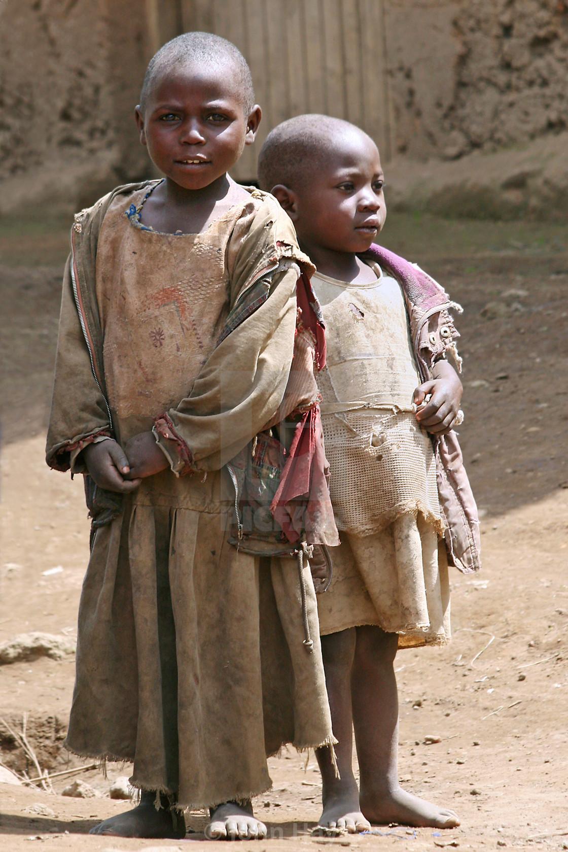 """Brothers, Uganda"" stock image"