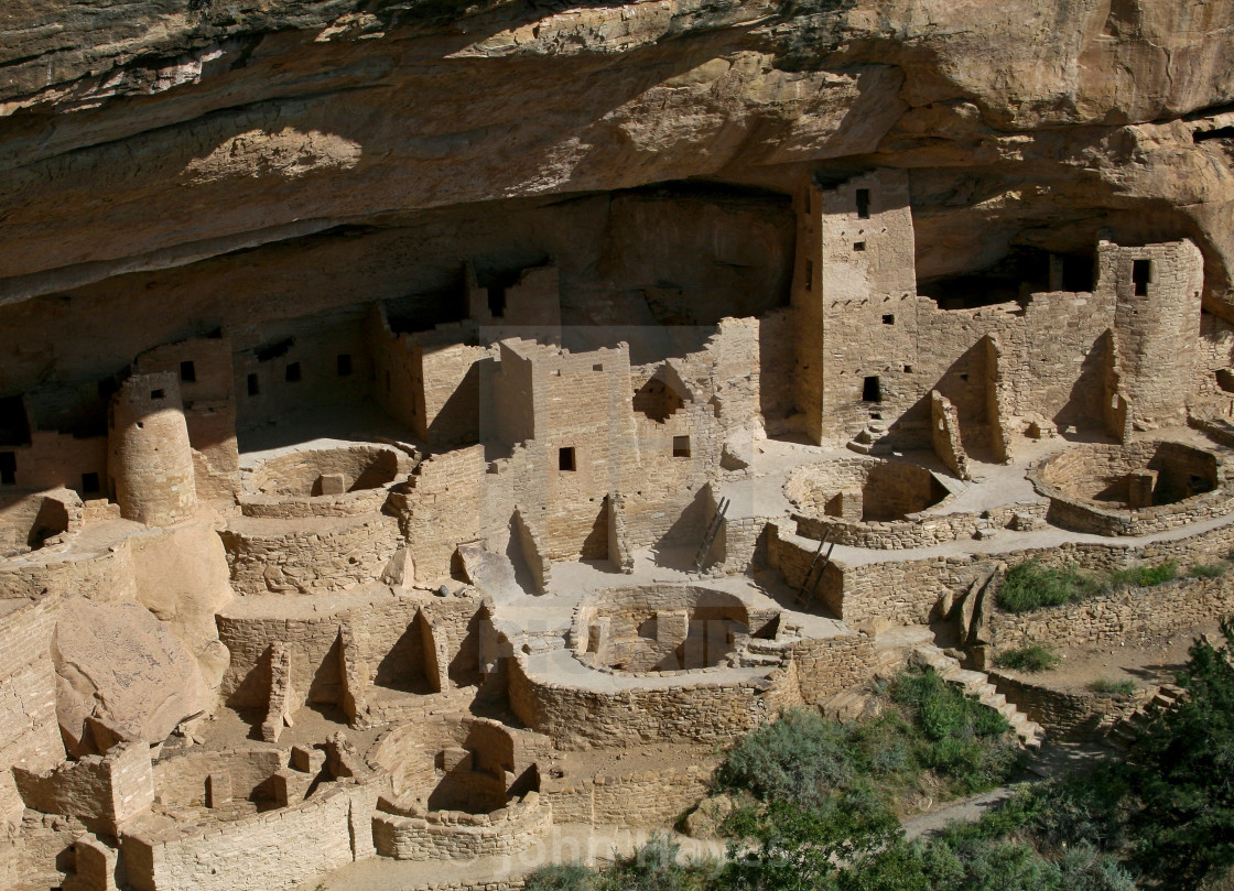 """""""Mesa Verde, Colorado"""" stock image"""