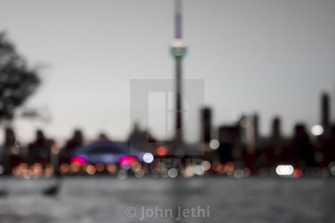 """Bokeh Skyline"" stock image"