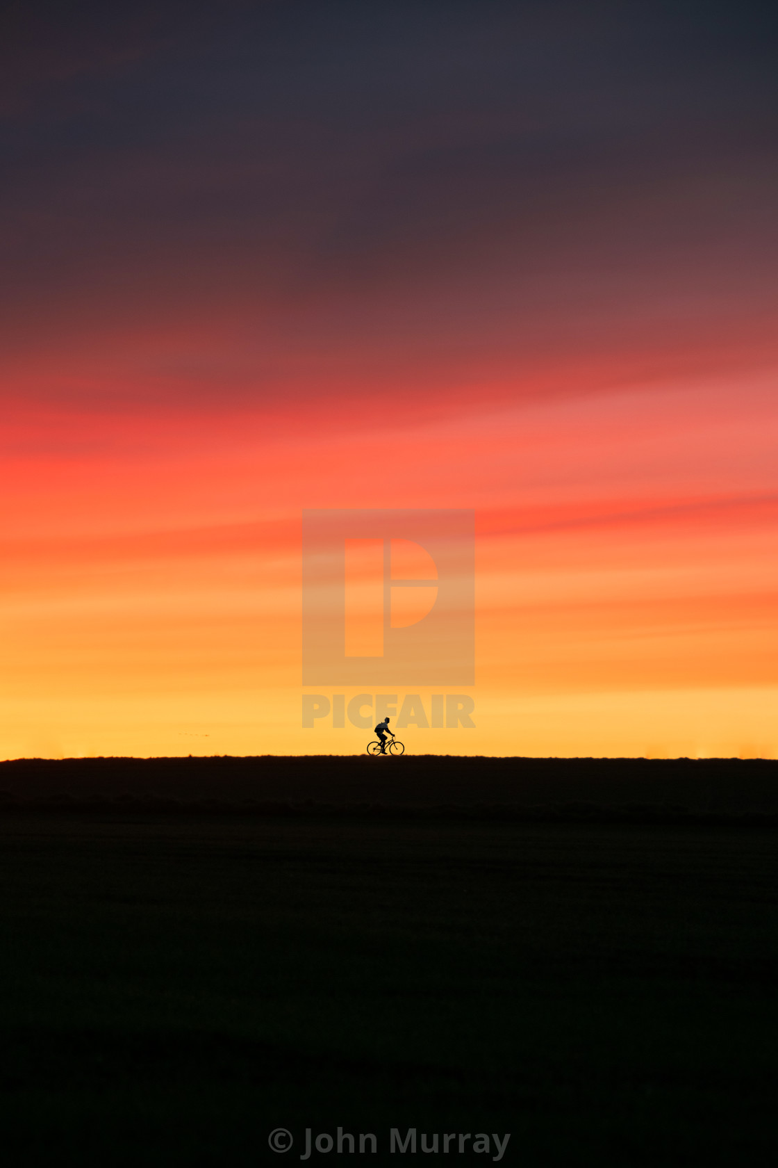 """Sunset Cycle"" stock image"