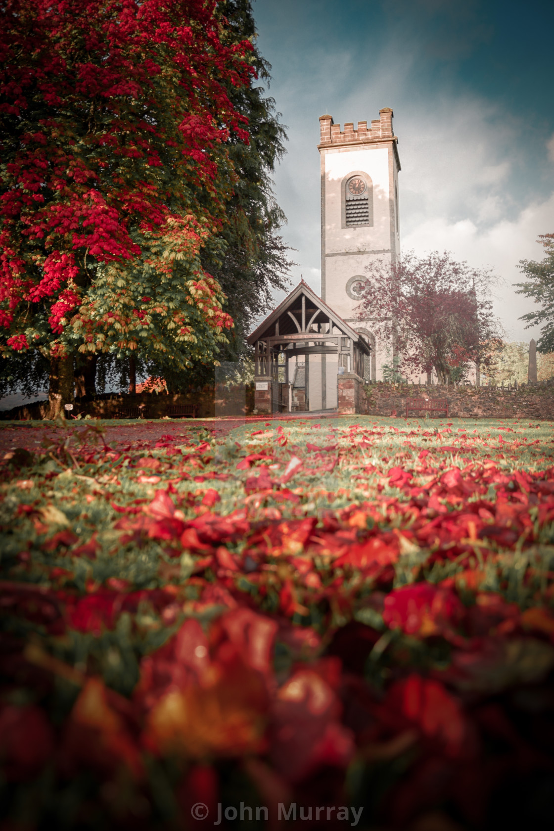 """Kenmore in Autumn"" stock image"