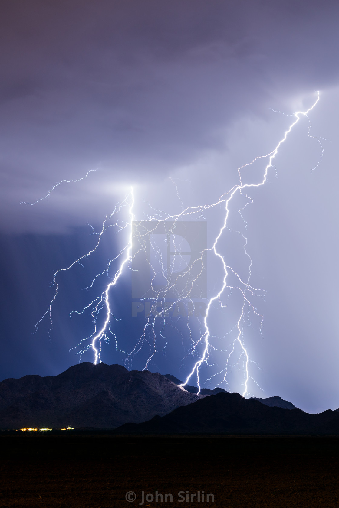 """Lightning"" stock image"