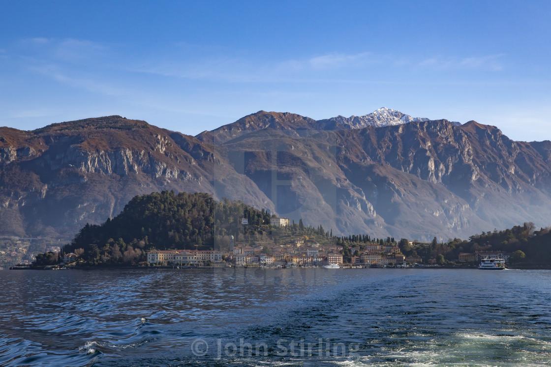 """Bellagio, Lake Como, Italy"" stock image"