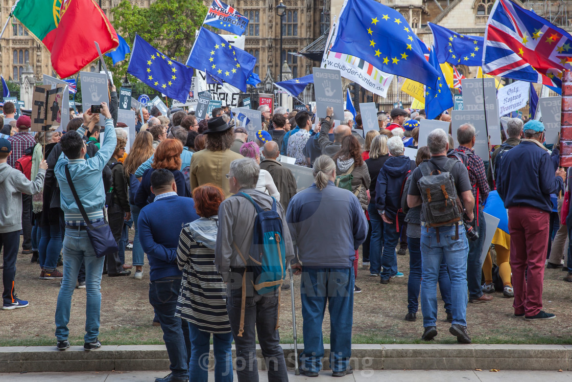 Brexit - European Union Support Demonstration
