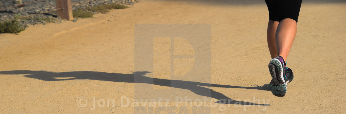 """Running Man"" stock image"