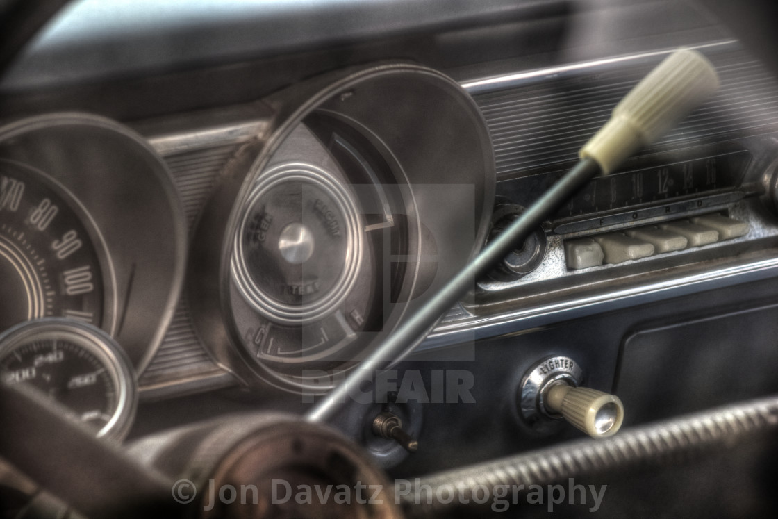 """Ford Fairlane 500"" stock image"