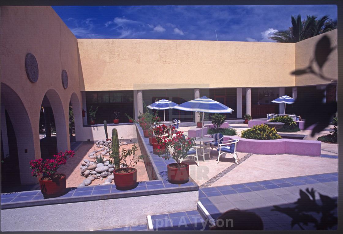"""Hotel Clarion, Cabo San Lucas, Los Cabos, BCS, 1989"" stock image"