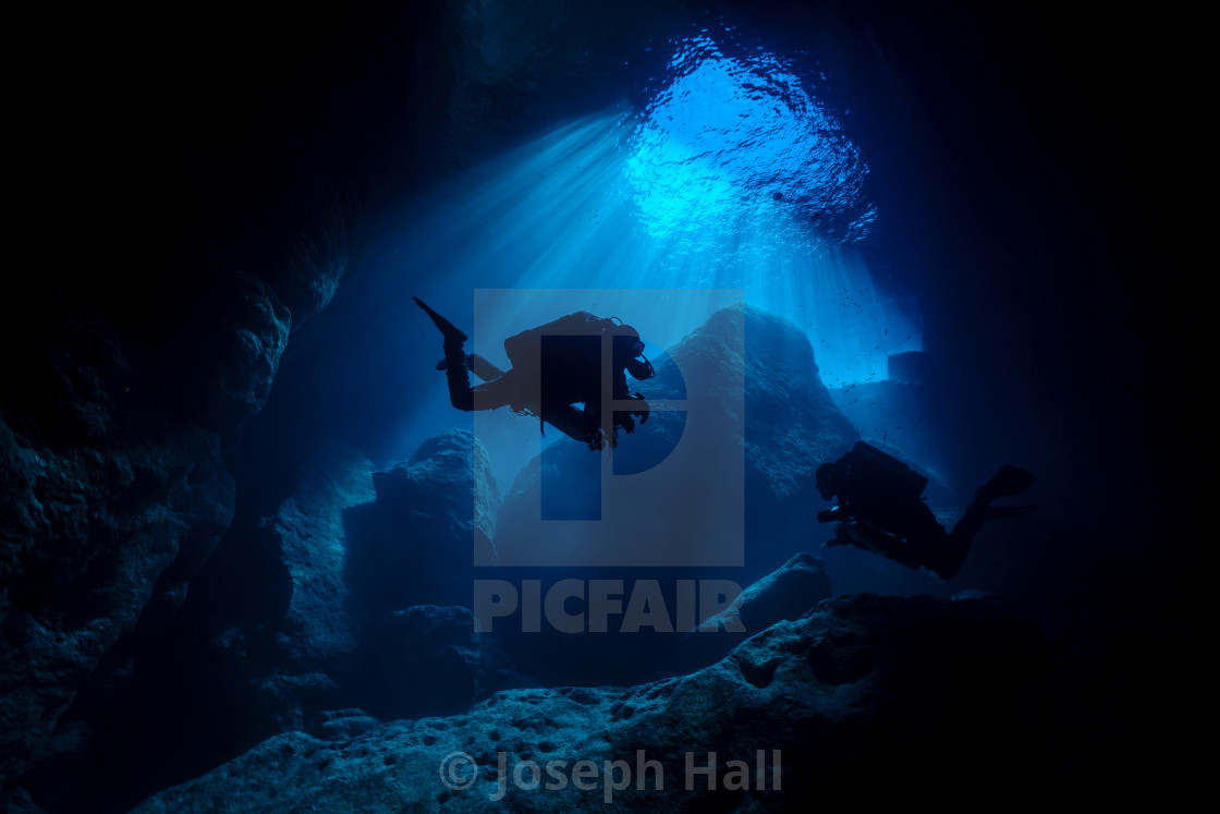 """Inland Sea on Rebreathers"" stock image"