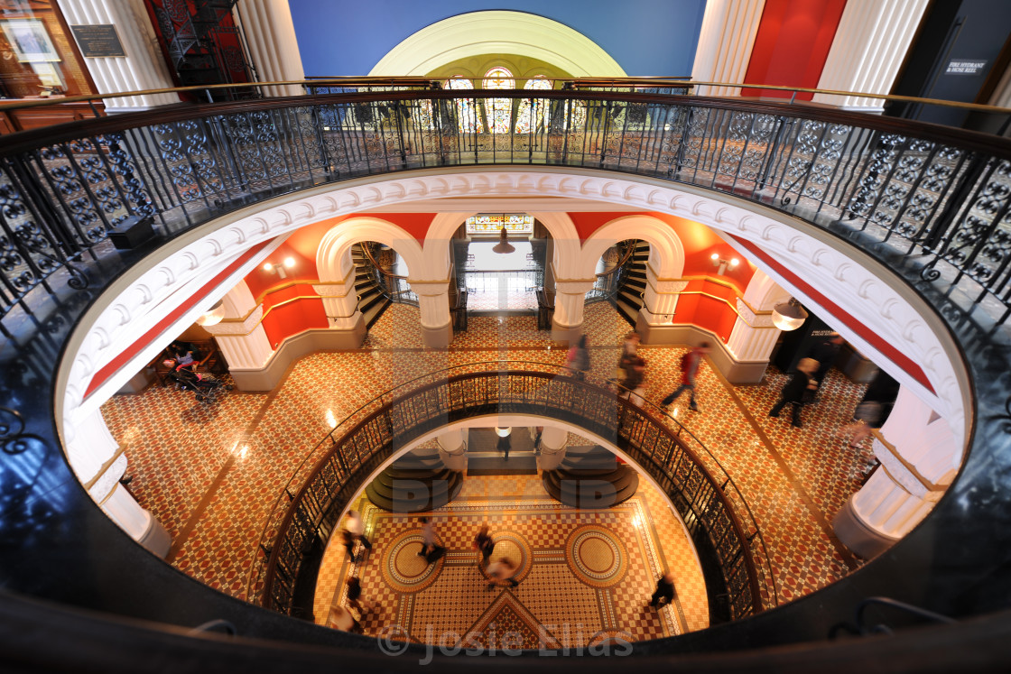 """""""The Queen Victoria Building,or QVB."""" stock image"""